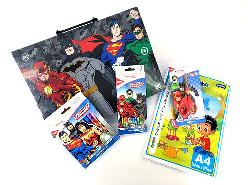 Kit Para Colorir - Liga da Justiça