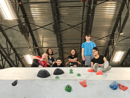 East High Orchestra goes Rock Climbing!