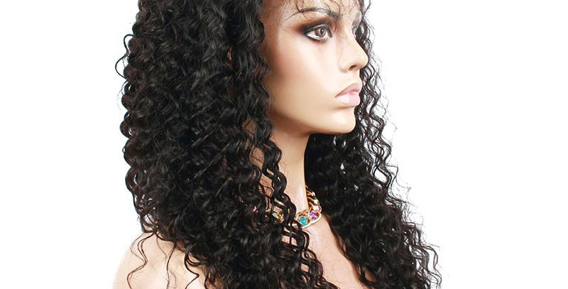 Classy Deepwave Lace Front Wig