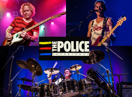 Labor Day Concert, Monday, September 2   iThe Police Experience: Tribute to Sting & The Police