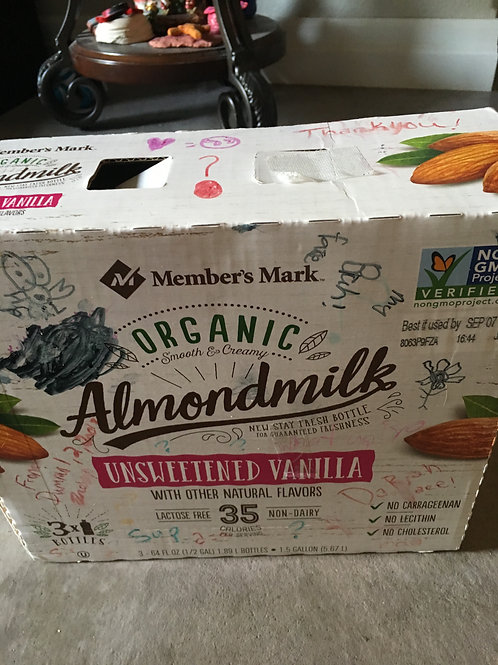 Almond Milk Mystery Box