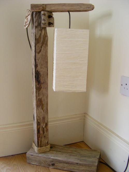 Driftwood floor lamp sold shells driftwood irish crafts wooden crafts driftwood floor lamp sold aloadofball Image collections