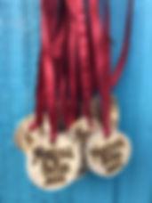 Driftwood medals