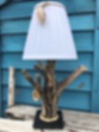 andmade Driftwood lamp