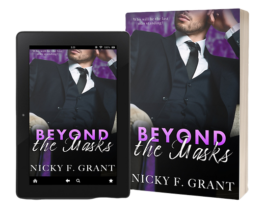 Nicky F Grant is a best selling author or erotic romance. Beyond the Masks is an award winning romance filled with passion, lust, lies and love