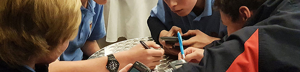 Regional Maths Quiz - Year 9 Team2 banne