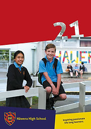 Hawera High School Prospectus 2021_COVER