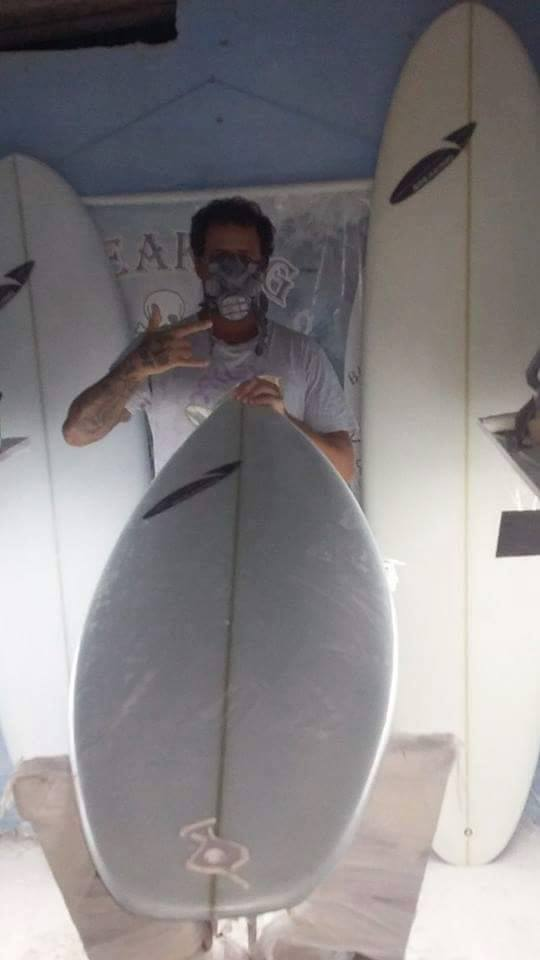 Regis Augusto - Breaking Surfboards