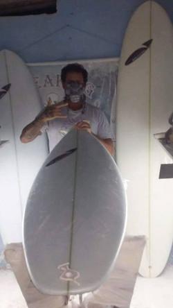 Regis Augusto - Breaking Surfboards