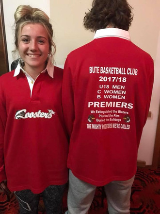 Bute Basketball Rugby Top