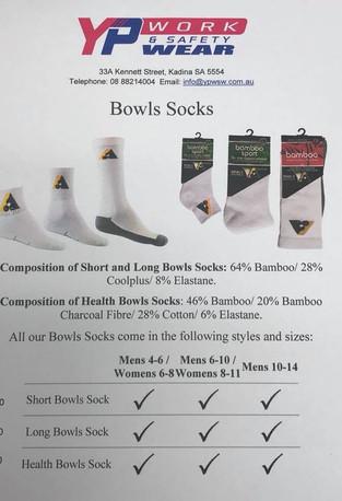 Bowls Socks