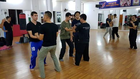 אימון משותף עם חברים מווייטנאם