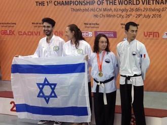 4 מדליות לנבחרת ישראל בווין צ'ון קונג פו: מסע מוצלח לווייטנאם ובחזרה