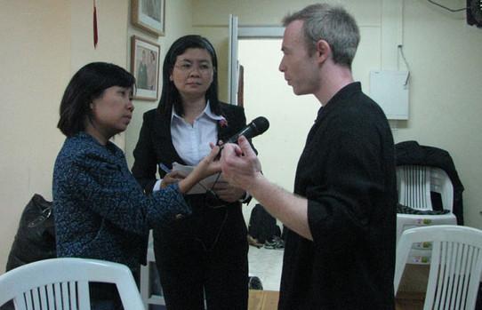 בראיון