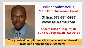 Wilder Saint Velus State Farm Insurance