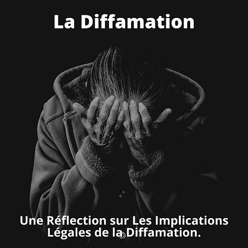 La Diffamation
