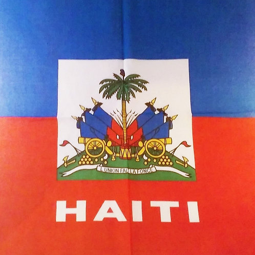 Haitian Flag Bandana