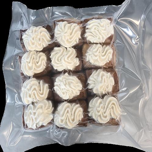 Слойки з соусом з білими грибами (12 шт.) (210 г)