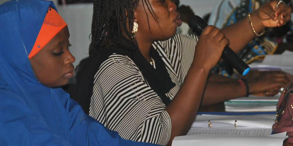 Training of CMD Yobe Village Extension Agents