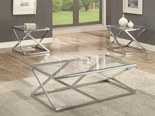 Chase 3 Piece Cocktail Table Set