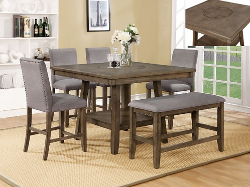 Manning Counter Height 5 Piece Dinette Set