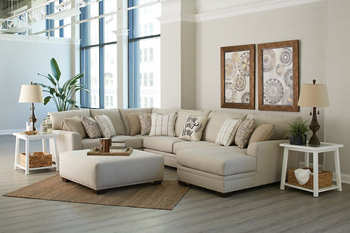 4478 MIDDLETON FARMHOUSE CASUAL 3 PIECE SECTIONAL