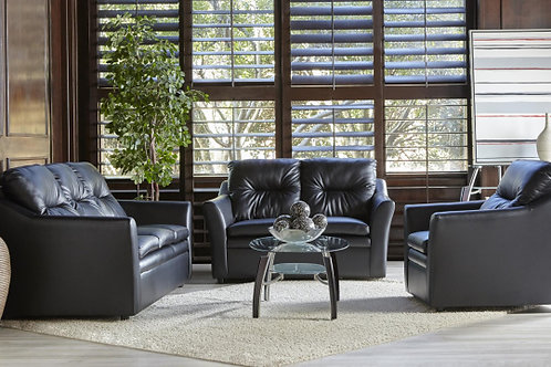 1953 SOFA AND LOVESEAT BLACK