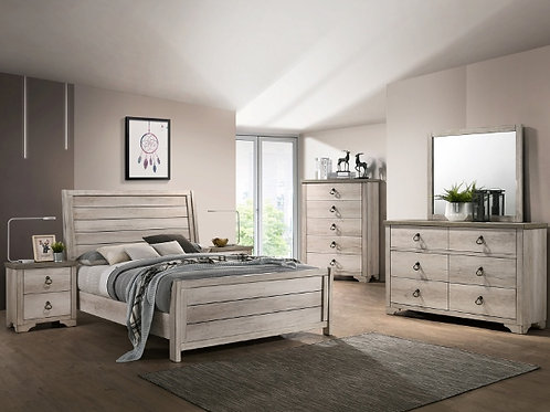 83055 PATTERSON SLEIGH QUEEN BED