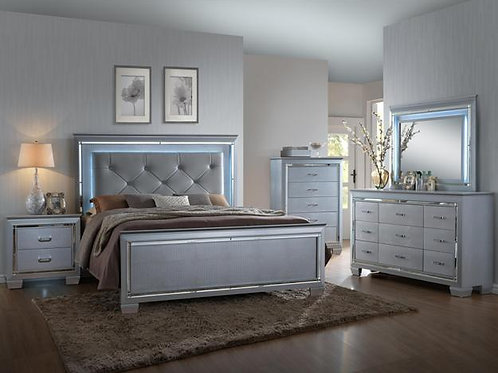 B7100 LILLIAN LED QUEEN BED