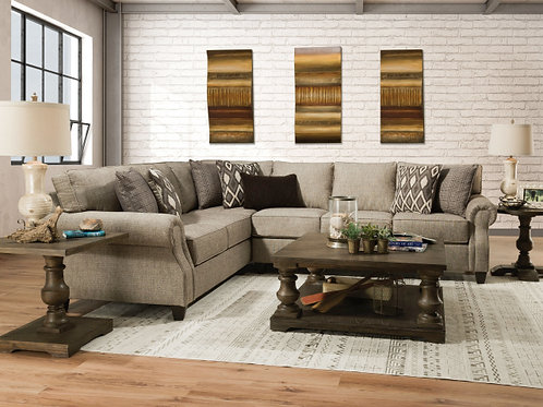 8010 2 PIECE SECTIONAL IN O'CONNOR COVE