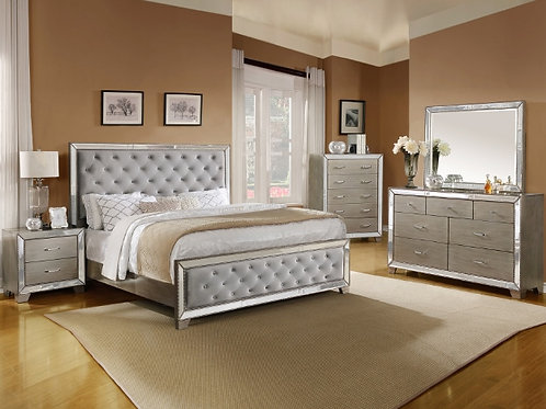 B7680 COSETTE QUEEN BED