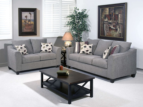 1225 Sofa and Loveseat Flying Metal