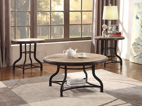 Kenneth 3 Piece Cocktail Table Set
