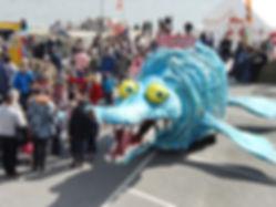 Horace the Pliosaur Lyme Regis Fossil Fe