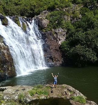 Vierter von sieben Wasserfällen in Vacoas (Mauritius)