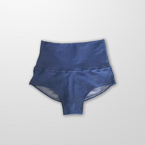 Pole Dance short cintura  alta blue Jeans (cós duplo)