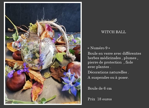 Witch ball 9