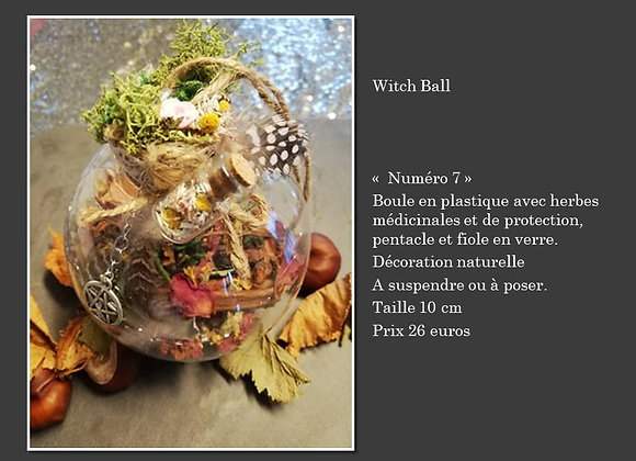 Witch ball 7