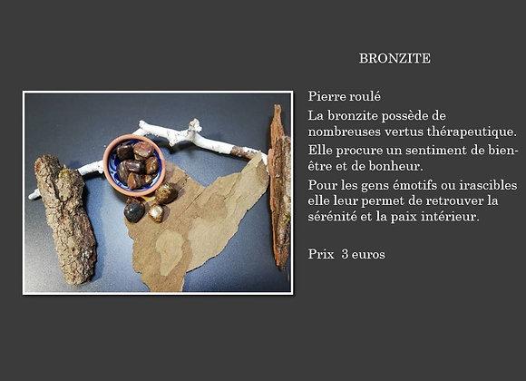 pierre roulé bronzite