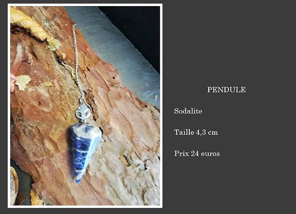 Pendule Sodalite