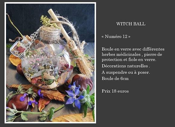 Witch ball numéro 12