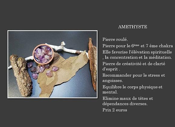 pierre roulé améthyste petite