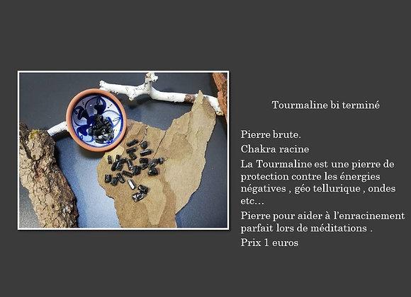 Tourmaline brute