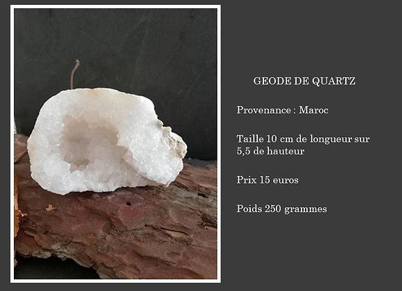 Géode de quartz