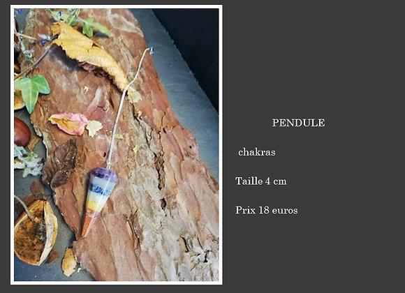 Pendule 7 chakras