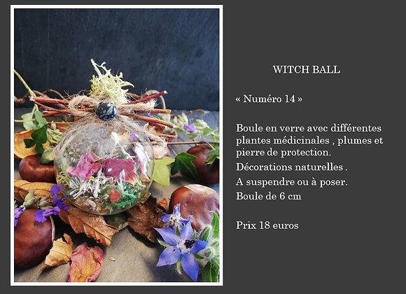 Witch ball numéro 14