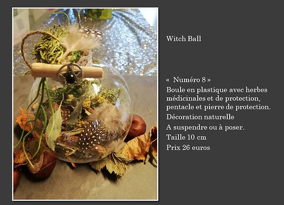 witch ball 8