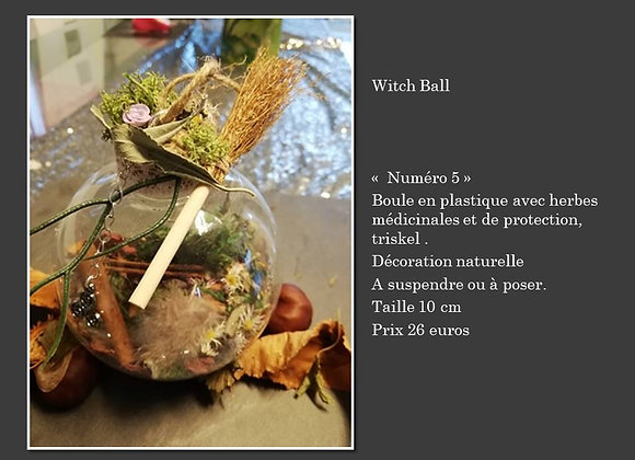 Witch ball 5