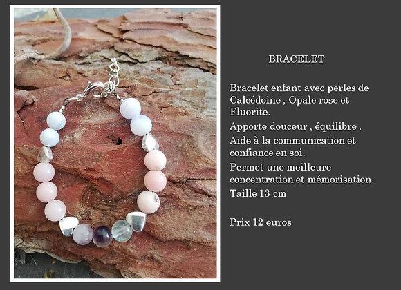 Bracelet enfant coeur