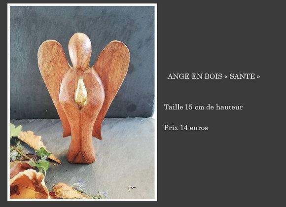 """Ange en bois """"santé"""""""